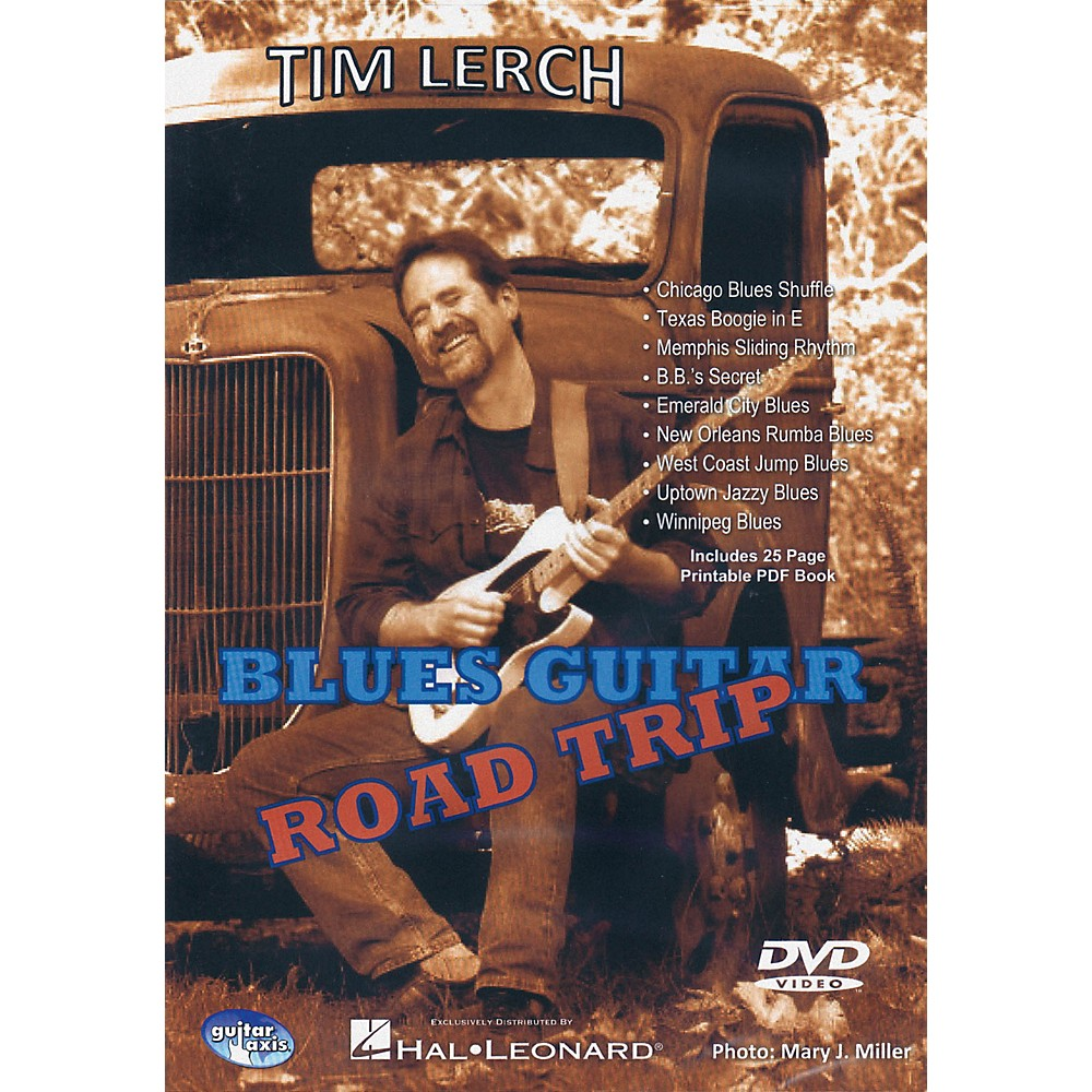 Hal Leonard Blues Guitar Road Trip - DVD