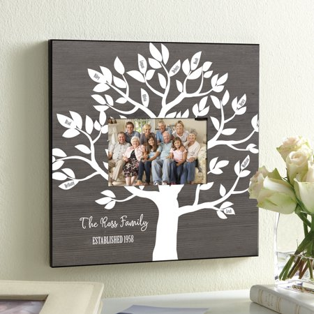 Personalized Our Family Tree Frame Walmartcom