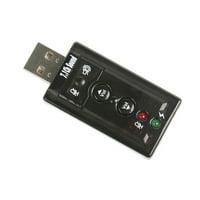 7.1 Channel USB External Sound Card Audio Adapter