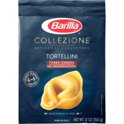 Barilla Collezione Artisanal Selection Pasta Tortellini Three Cheese 12 oz