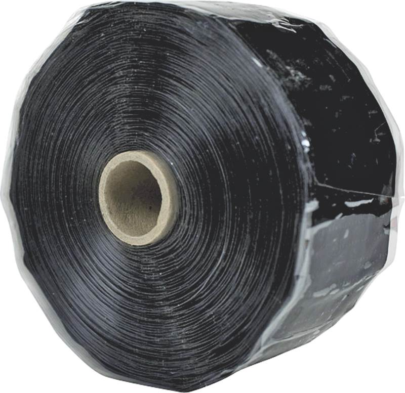 Harbor RT2000303601USZ41 Pipe Repair Tape, 2 in W X 36 ft L X 0.3 in Thick, Black