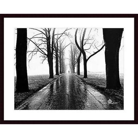 Printfinders 'Jogger, Westport, Connecticut' by Henri Silberman Framed Photographic Print