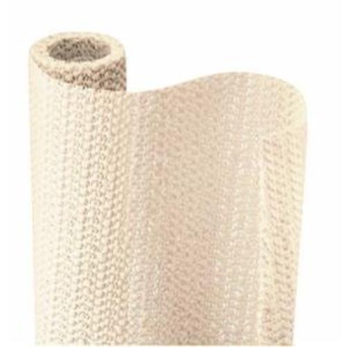 Con-Tact Brand Grip Non-Adhesive Shelf Liner, Almond