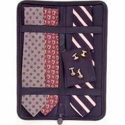Household Essentials Travel Tie Case, Black
