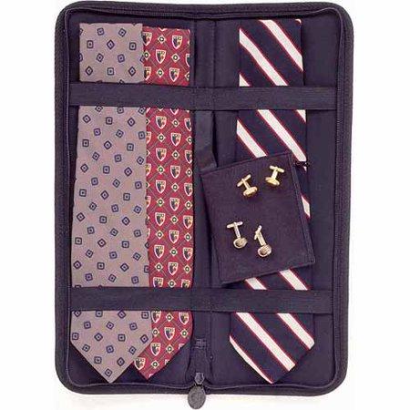 Household Essentials Travel Tie Case  Black
