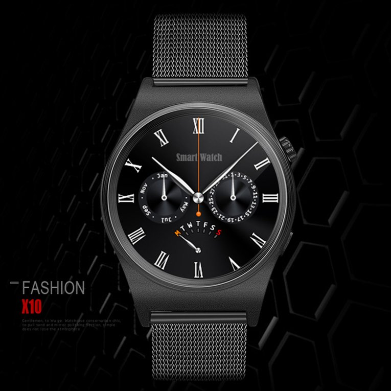X-10 Powerhouse Black X10 Bluetooth Smart Watch With Lcd ...