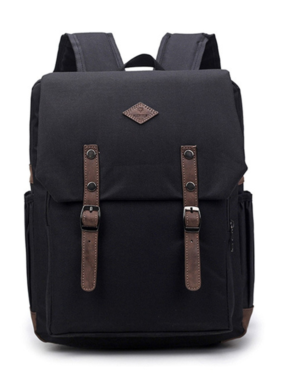 Men Women Oxford Backpack Laptop Travel Rucksack Satchel Shoulder School Bag