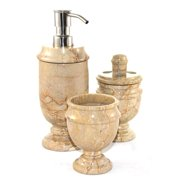 Nature Home Decor Siberian 3-Piece Bathroom Accessory Set