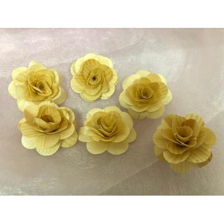Charmed Wooden Natural Shabby Rose Flowers Wedding Decor 1.5