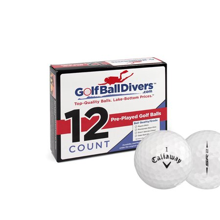 Callaway SR2 - Near Mint (AAAA) Grade - Recycled (Used) Golf Balls - 12 Pack