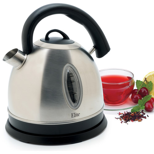 Maxi-Matic Cordle Electric Kettle, Stainless Steel