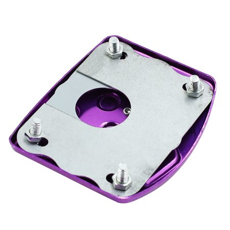 Purple Aluminium Alloy Nonslip Motorcycle Footrest Foot Peg Brake Pedal Pad - image 1 of 3