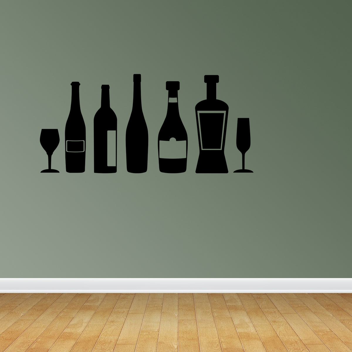 Kitchen Decor Wine Decor Kitchen Wine Quote Wine Bottles Decor Jp222