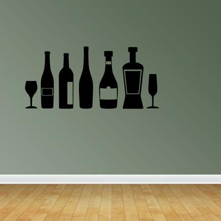 Kitchen Decor Wine Decor Kitchen Wine Quote Wine Bottles Decor Jp222