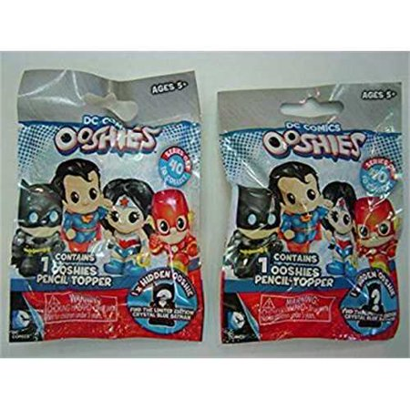 Ooshies Blind Bag Pencil Topper DC Comics Series 1 (Bundle of Two) - Bag Toppers