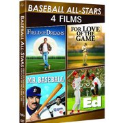 Baseball All-Stars: 4-Movie Spotlight Series Ed   Field Of Dreams   For Love Of The Game   Mr. Baseball (Anamorphic... by