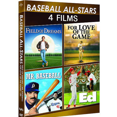 Baseball All-Stars: 4-Movie Spotlight Series - Ed / Field Of Dreams / For Love Of The Game / Mr. Baseball (Anamorphic Widescreen)