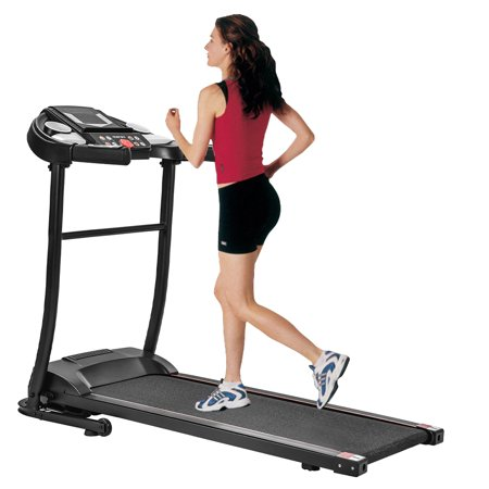 Smart Digital Exercise Equipment - Folding Electric Motorized Treadmill for Home, Large Running Surface, Easy Assembly Motorized Running Machine for Running & Walking, I9688