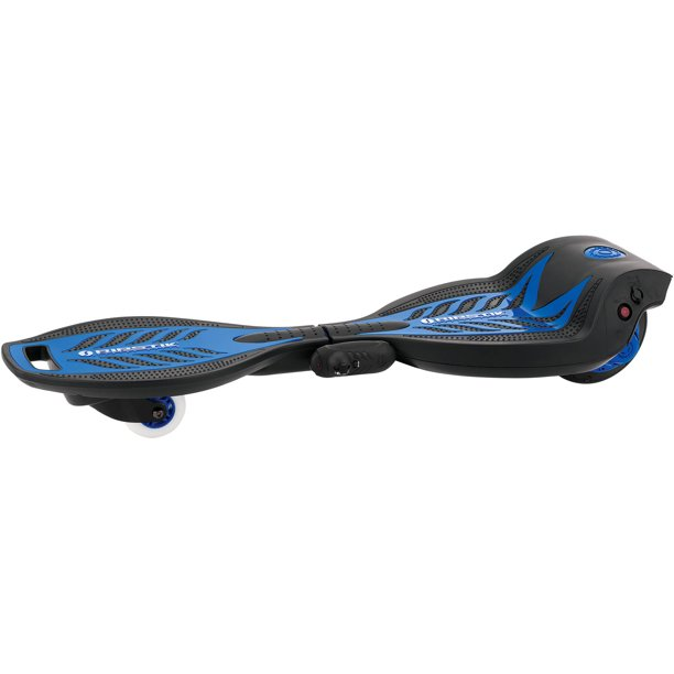 Razor RipStik Electric Caster Board with Power Core Technology and Wireless Remote, Blue