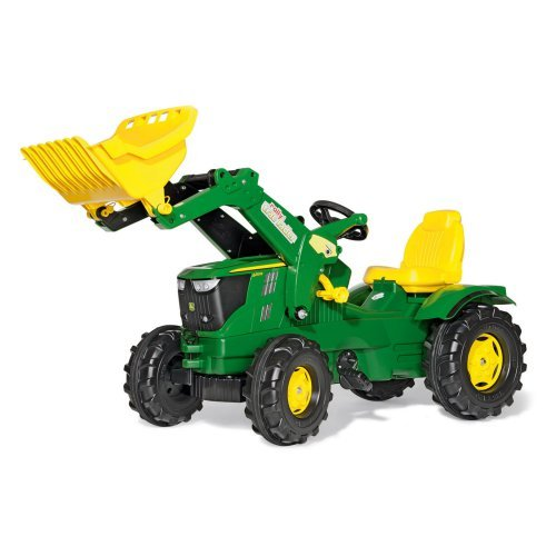 John Deere Farm Tractor with Loader Pedal Riding Toy