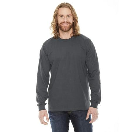 2007 Unisex Fine Jersey Long-Sleeve T-Shirt - Asphalt - Small