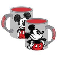 Disney Mickey Mouse 14oz Mug, Gray