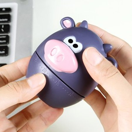 Polar zoo Pig Kitchen Timer Cute Cooking Gadget Tool Fun Collectible For Pet