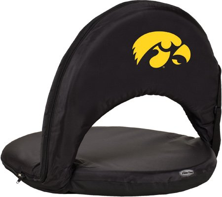 Iowa Hawkeyes - Oniva Seat Portable Recliner Chair by Picnic Time (Black) - image 1 de 1