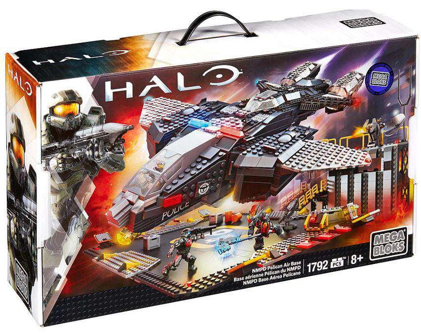 Halo NMPD Pelican Air Base Set Mega Bloks 38761 by Mega Bloks