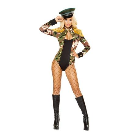 1pc Army Girl Costume](Halloween Army Girl)