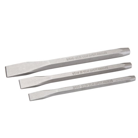 Hyper Tough 3 Piece Cold Chisel Set