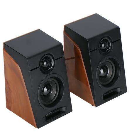 OTVIAP 950 Desktop Small Speaker Table Notebook Computer USB2.0 Mini Bass Loudspeaker Box,Table Speaker
