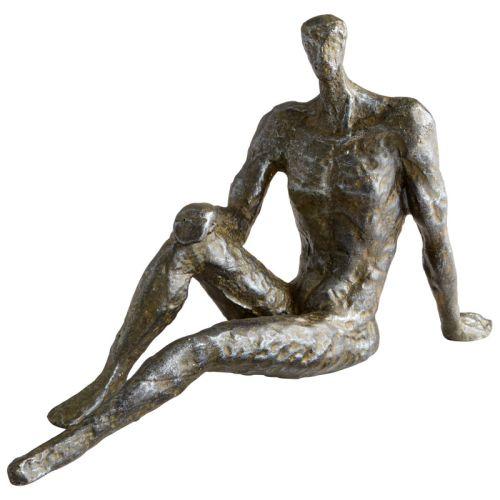 Cyan Design Bevan Sculpture Bevan 6 Inch High Iron Statue by Cyan Design