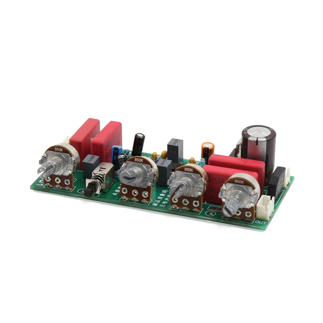 Ac12 15v Subwoofer Audio 4 Channel Stereo Power Amplifier Board For Four Auto Car