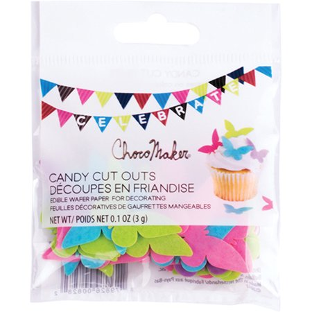 ChocoMaker(R) Edible Wafer Candy Cut Outs-Butterflies