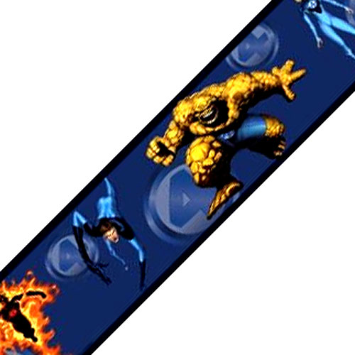 Fantastic Four Marvel Comics Wallpaper Accent Border Roll