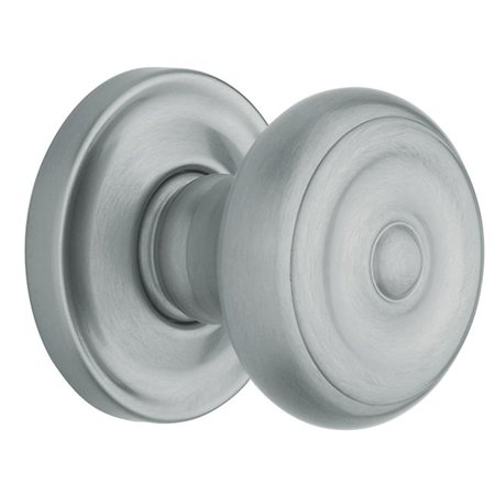 Estate Knob, Satin Chrome