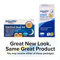 Equate Night Sleep Cap 100ct