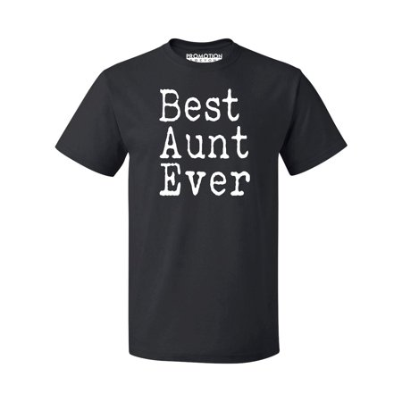 P&B Best Aunt Ever Men's T-shirt, Black, L
