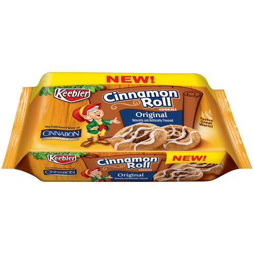 Keebler Cinnamon Roll Original Cookies, 10 ounce box