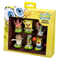 SPONGEBOB MINI RESIN 6PC GIFT ? Assorted Styles