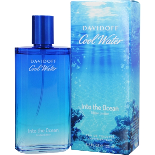 Cool Water Into The Ocean Edt Spray 4.2 Oz By Davidoff