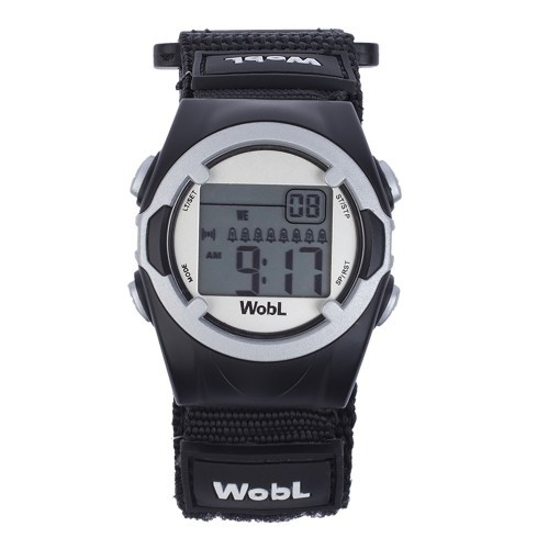 WobL Black Vibrating Watch