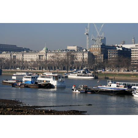 LAMINATED POSTER Thames City Pleasure Craft River Boats London Poster Print 24 x 36 - Thames Valley Police Halloween Poster