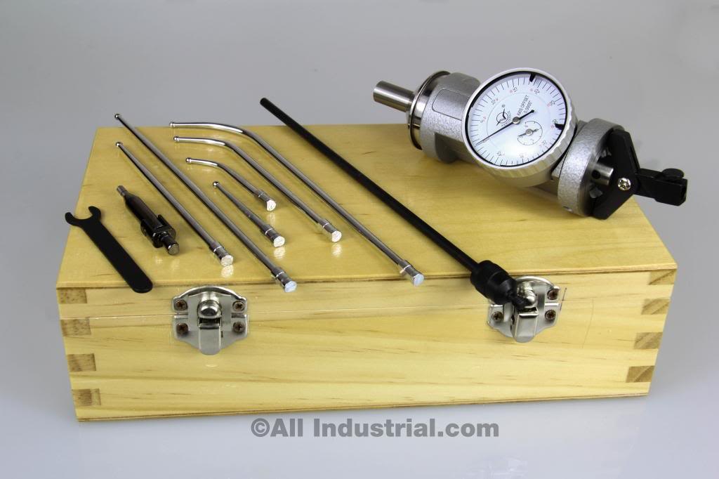 Coaxial Centering Indicator Co-Ax Precision Milling Machine Test Dial CNC by All Industrial Tool Supply