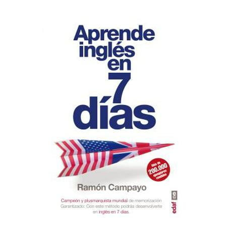 Aprende Ingles En Siete Dias