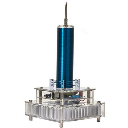 - Joytech Music Tesla Coil Acrylic Base Shell Arc Plasma Loudspeaker Wireless Transmission Experiment Desktop Toy Model YS05