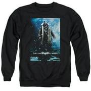 Dark Knight Rises Bane Poster Mens Crewneck Sweatshirt