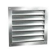 Ll Building Products DA1824 Aluminum Dual Louvers, 18 x 24 In.