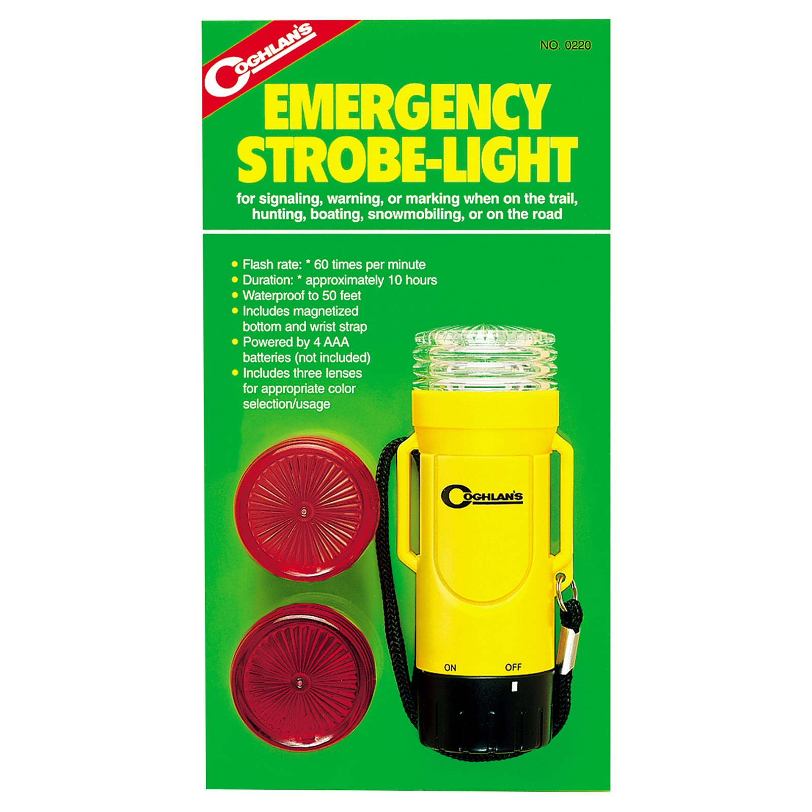 Coghlans Emergency Strobe-Light 0220